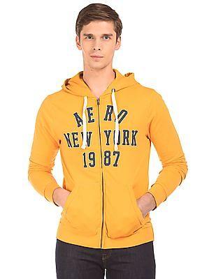 Aeropostale Brand Applique Hooded Sweatshirt
