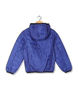U.S. Polo Assn. Kids Boys Padded Hooded Jacket