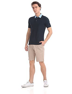 Arrow Sports Regular Fit Patterned Polo Shirt