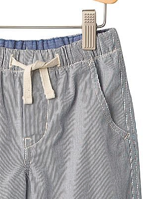 GAP Boys Blue Stripe Pull On Shorts