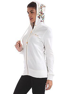 EdHardy Women Embellished Hooded Sweatshirt