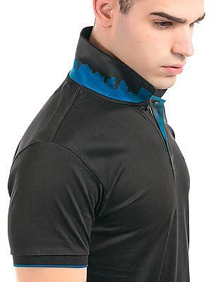 Arrow Newyork Solid Regular Fit Polo Shirt