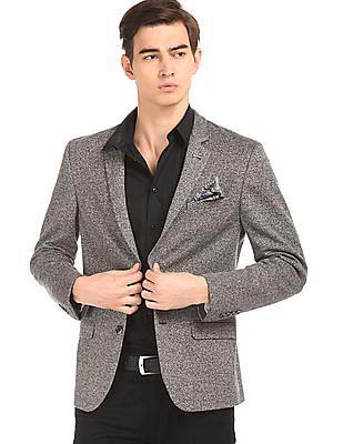 Arrow Newyork Heathered Slim Fit Blazer