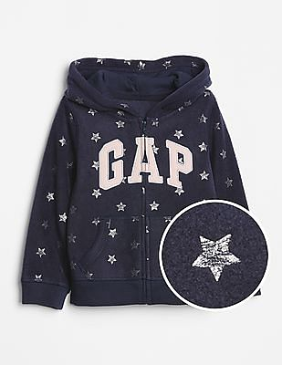 129c6c5cb Buy Toddler Girl Toddler Girl Logo Hoodie Sweatshirt in Fleece ...