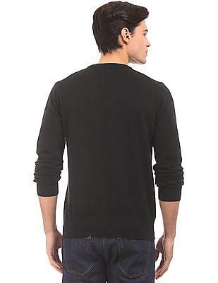 Gant V-Neck Lambswool Sweater