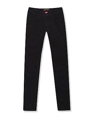 Flying Machine Women Twiggy Super Skinny Fit Corduroy Jeans