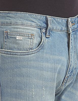 Ed Hardy Slim Fit Washed Jeans