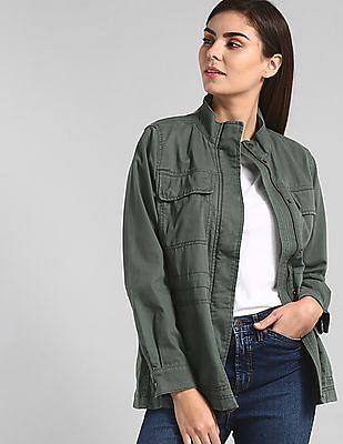 GAP Green Utility Twill Jacket