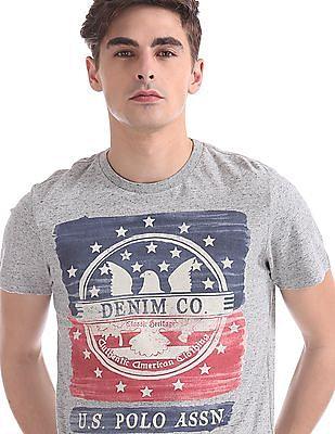 U.S. Polo Assn. Denim Co. Regular Fit Printed T-Shirt