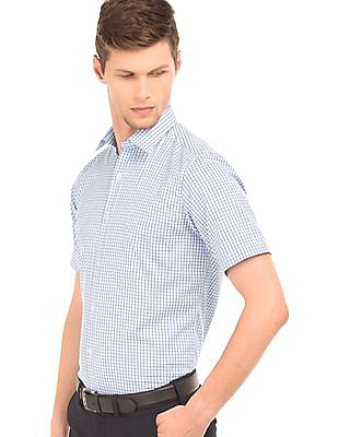 Arrow Check Short Sleeve Shirt