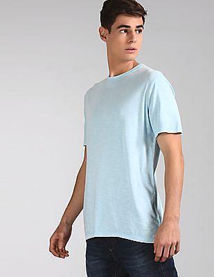 GAP Blue Vintage Slub Jersey Crewneck T-Shirt