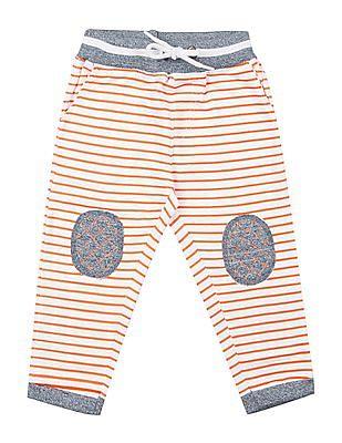 Donuts Boys Striped Knit Track Pants