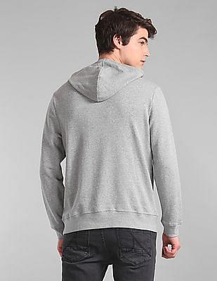 GAP Grey Logo Applique Hooded Sweatshirt