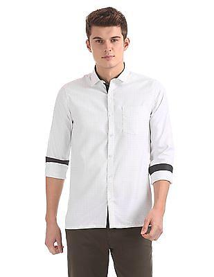 Excalibur Patterned Long Sleeve Shirt