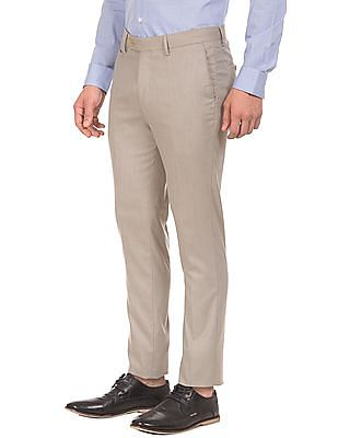 USPA Tailored Mid Rise Super Slim Fit Trousers