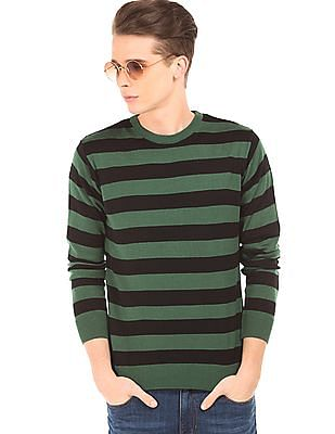 Ruggers Striped Contemporary Fit Sweater