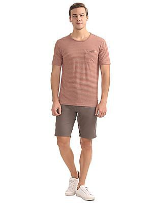 Cherokee Striped Slim Fit T-Shirt
