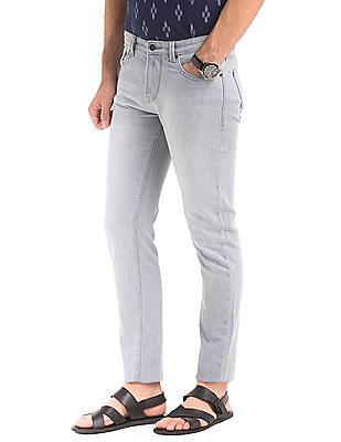 True Blue Stone Wash Comfy Tapered Jeans