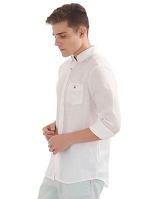 Gant The Linen Regular Button Down Shirt