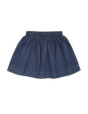 Cherokee Girls Flared Denim Skirt