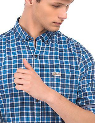 U.S. Polo Assn. Denim Co. Check Slim Fit Shirt