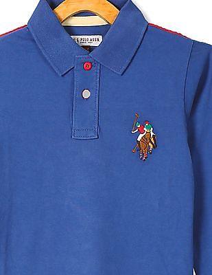 U.S. Polo Assn. Kids Standard Fit Full Sleeve Polo Shirt