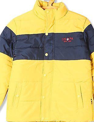 U.S. Polo Assn. Kids Boys Long Sleeve Puffer Jacket
