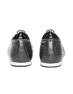 Arrow Sports Grained Lace Up Sneakers