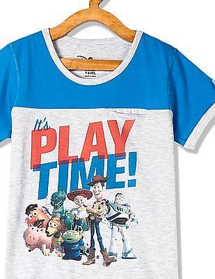 Colt Boys Crew Neck Toy Story Print T-Shirt