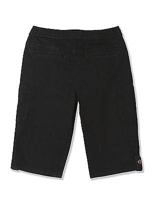 FM Boys Boys Slim Fit Solid Shorts
