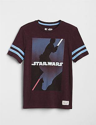 GAP Toddler Boy Red Star Wars™ Rugby T-Shirt