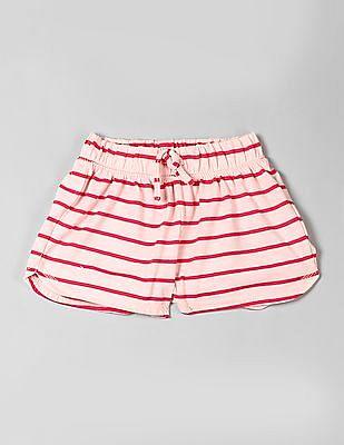 GAP Girls Pink Print PJ Shorts
