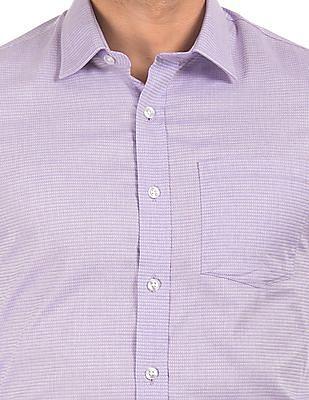 Arrow Jacquard Slim Fit Shirt