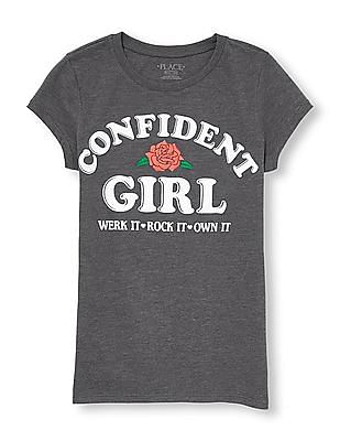 The Children's Place Girls Graphic Print T-Shirt