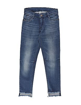 Cherokee Girls Stone Wash Slim Fit Jeans