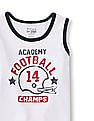 The Children's Place Toddler Boy Sleeveless Sporty Active Graphic Tank Top