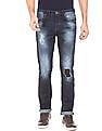 Flying Machine Mid Rise Distressed Jeans