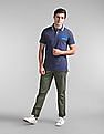 GAP Short Sleeve Tipped Polo Shirt