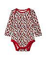 GAP Baby Red Poppy Long Sleeve Bodysuit