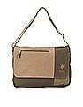 U.S. Polo Assn. Colour Block Flap Messenger Bag