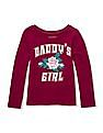 The Children's Place Baby Girl Long Sleeve Graphic Print T-Shirt