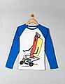GAP Boys Graphic Long Sleeve Baseball Tee