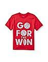 The Children's Place Boys Short Sleeve 'Go For The Win' Graphic Tee