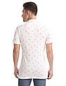 Aeropostale Bird Print Pique Polo Shirt
