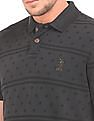 U.S. Polo Assn. Denim Co. Muscle Fit Printed Polo Shirt