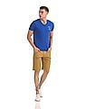 Flying Machine Slim Fit Twill Shorts