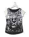 EdHardy Women Round Neck Printed Top
