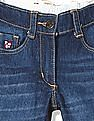 U.S. Polo Assn. Kids Girls Standard Fit Stone Wash Jeans