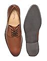Arrow Round Toe Derby Shoes