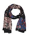 SUGR Multi Colour Floral Print Cotton Stole